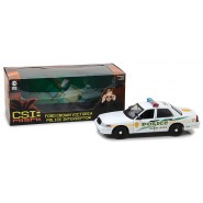 Modello DieCast AUTO POLIZIA Ford Crown Victoria 1/18 dal Telefilm CSI MIAMI Originale GREENLIGHT