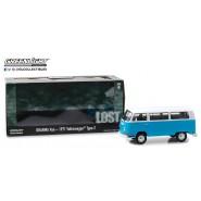 Modello DieCast DHARMA VAN Dal Telefilm LOST Volkswagen 1971 Type 2 Bus SCALA 1/24 Greenlight