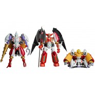 SHIN GETTER Robo ROBOT DYNAMIC CHANGE Set Box 3 Models SHIN GETTER 1 2 3 Original GOOD SMILE Giappone