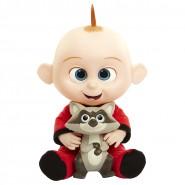 JACK-JACK Figura Bambola PARLANTE 35cm da INCREDIBILI 2 con Procione ORIGINALE