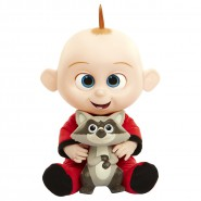 JACK-JACK FFigure Doll TALKING 35cm from INCREDIBLES 2 with RACOON 100% ORIGINAL