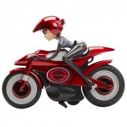 ELASTIGIRL Motocicletta ELASTICA 25cm Con Retrocarica da INCREDIBILI 2 ORIGINALE