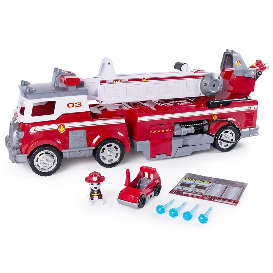 Paw Patrol Giant Vehicle Ultimate Fire Truck Marshall