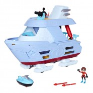 PLAYSET ALISCAFO Super Accessoriato 40cm Hydroliner da INCREDIBILI 2 ORIGINALE  Disney