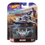 DieCast Model Space Ship MILANO From GUARDIANS OF THE GALAXY 2 DieCast Hot Wheels FLD28
