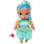 Doll of SHINE from Shimmer and Shine 25cm (9.8 inches) With Pacifier Original NICKELODEON Official JAKKS Pacific