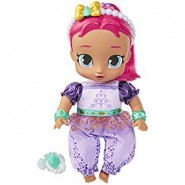 Doll of SHIMMER from Shimmer and Shine 25cm (9.8 inches) With Pacifier Original NICKELODEON Official JAKKS Pacific