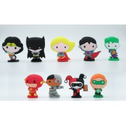 JUSTICE LEAGUE Set 9 FIGURE 5cm Batman Superman Joker Flash Wonder Woman etc. ORIGINALI