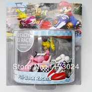 Model KART PRINCESS PEACH Super Mario Original NINTENDO Wii Pull Back