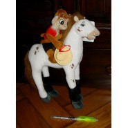 Figure PLUSH 30cm (11 inches) MONKEY HORSE Pippi Calzelunghe Original Official Pippi Longstocking