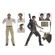 Two Figures Action ASH HERO CHAINSAW & ED Getley EVIL Deadite  18cm (7 nches) Serie 2 NECA