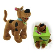 Plush SCOOBY DOO Dog SITTING 28cm 11'' ORIGINAL Top Quality PMS