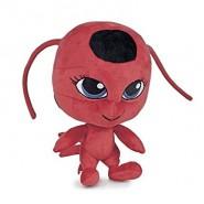 Plush TIKKI Kwami 20cm from MIRACULOUS LADYBUG Official ORIGINAL Red