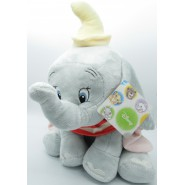 DUMBO Elefantino Peluche GIGANTE XXL 45cm ULTRA SOFT Originale DISNEY Animal Friends