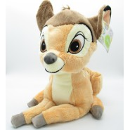 Peluche BAMBI Cerbiatto DISNEY Animal Friends 35cm Originale UFFICIALE Ologramma