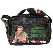 THE BIG BANG THEORY Messenger Bag 40x30cm I AM IMMUNE TO YOUR SARCASM Sheldon