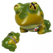 FUTURAMA Figure COIN BANK  15cm HYPNOTOAD Original TOYNAMI