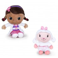 DOC McSTUFFINS Couple 2 Plushies 20cm DOTTIE and LAMBIE Soft Toys DISNEY Original