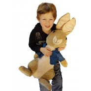 Plush 70cm (27 inches) PETER GIANT XXL From PETER RABBIT THE MOVIE Peluche Original