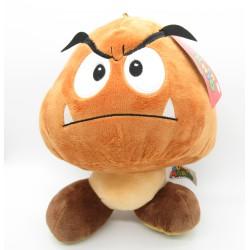 Plush Soft Toy Goomba Mushroom 25cm Original Super Mario Bros Villains