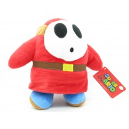 Plush Soft Toy SHY GUY Red Dress 27cm ORIGINAL SUPER MARIO Bros Villains