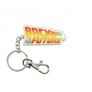 METAL KEYRING Logo Movie Title BACK TO THE FUTURE Original Official SD TOYS