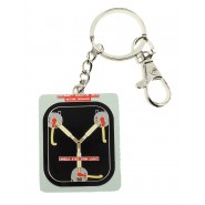 METAL KEYRING Flux Capacitor BACK TO THE FUTURE Original Official SD TOYS
