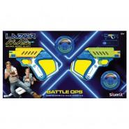 LAZER MAD - Battaglia Dual Kit - GIOCO Combattimento Pistola e Bersaglio Laser ORIGINALE