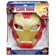 MASCHERA Elettronica IRON MAN Bambino LUCI E SUONI Avengers Originale HASBRO B5784 Carnevale