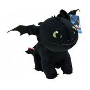 DRAGONS Peluche SDENTATO FURIA BUIA Misura Media 40cm Dragon Trainer ORIGINALE