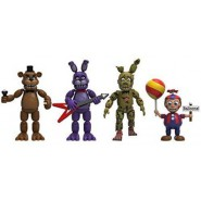 FIVE NIGHT AT FREDDY'S Set 4 FIGURE Vinile da Collezione Originale FUNKO Freddy Bonnie Springtrap Baloon Boy SET DUE