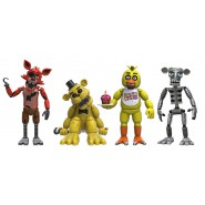 FIVE NIGHT AT FREDDY'S Set 4 Vinyl FIGURES Collectible Original FUNKO Chica Foxy Golden Freddy SET ONE