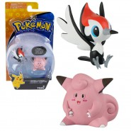 POKEMON Box 2 Mini Figures PIKIPEK Versus CLEFAIRY Original TOMY Battle Pose