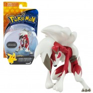 POKEMON Figura Collezione 8cm LYCANROC MIDNIGHT FORM Notte Originale TOMY Battle Pose