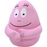 BARBAPAPA Plush Soft Toy 18cm PINK Dad Anti-Stress with MAGNETS and MINI POCKET