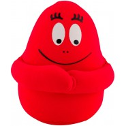 BARBAPAPA Plush Soft Toy 18cm RED Anti-Stress with MAGNETS and MINI POCKET