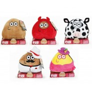 POU Plush Soft Toy 15cm From Videogame WITH SOUNDS Original APP