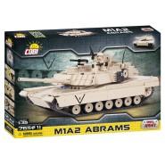 Playset CARRO ARMATO Tank M1A2 ABRAMS Costruzioni COBI 2608 Mattoncini 765 pezzi Scala 1:35
