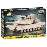 Playset TANK M1A2 ABRAMS Constructions COBI 2608 Building Blocks 765 pieces scale 1:35