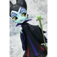 Figure Statue 14cm MALEFICENT Disney QPOSKET Petit Banpresto Q Posket SLEEPING BEAUTY Black Vers A