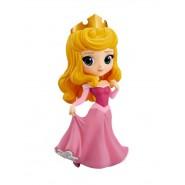 Figura Collezione 14cm AURORA Briar Rose Vestito Rosa BELLA ADDORMENTATA Disney QPOSKET Banpresto SLEEPING BEAUTY Vers A
