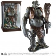TROLL Figura Collezione STATUA Resina 15cm da HARRY POTTER Originale NOBLE Collection MAGICAL CREATURES 12