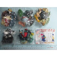 RARE Set 5 Figures DISNEY CINEMAGIC Primo PART 1 Yujin JAPAN  Dumbo Pinocchio Ariel etc.