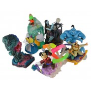RARISSIMO Set 5 Figure DISNEY CINEMAGIC PARADISE Secondo PART 2 Yujin JAPAN  Dumbo Pinocchio Ariel etc.
