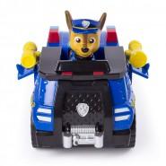 PAW PATROL Playset Veicolo CHASE Versione TRANSFORMING POLICE CRUISER Originale SPIN MASTER Basic