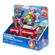 PAW PATROL Playset MARSHALL 's Vehicle TRANSFORMING FIRE ENGINE Original SPIN MASTER Basic