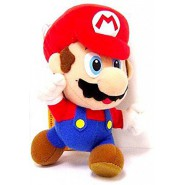 Plush Soft Toy SUPER MARIO RUNNING 20cm ORIGINAL Bros Serie 1 Nintendo