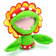 Plush Soft Toy PETEY PIRANHA Flower Plant 18cm ORIGINAL SUPER MARIO Bros Serie 1