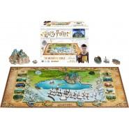 Puzzle 4D HOGWARTS Harry Potter 892 Pezzi Ufficiale 4d CityScapes