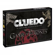 CLUEDO Classic Edition GAME OF THRONES Two Mysteries to Solve ITALIAN Language